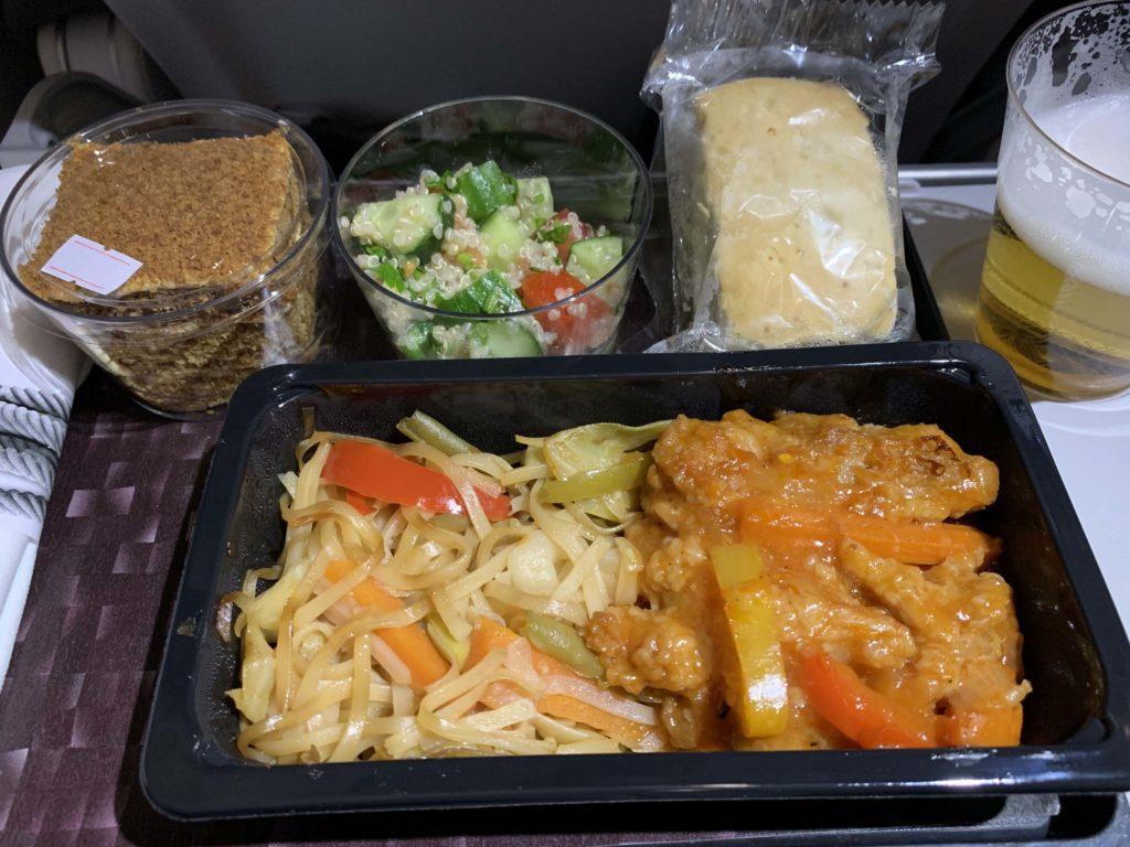 機内食 A320