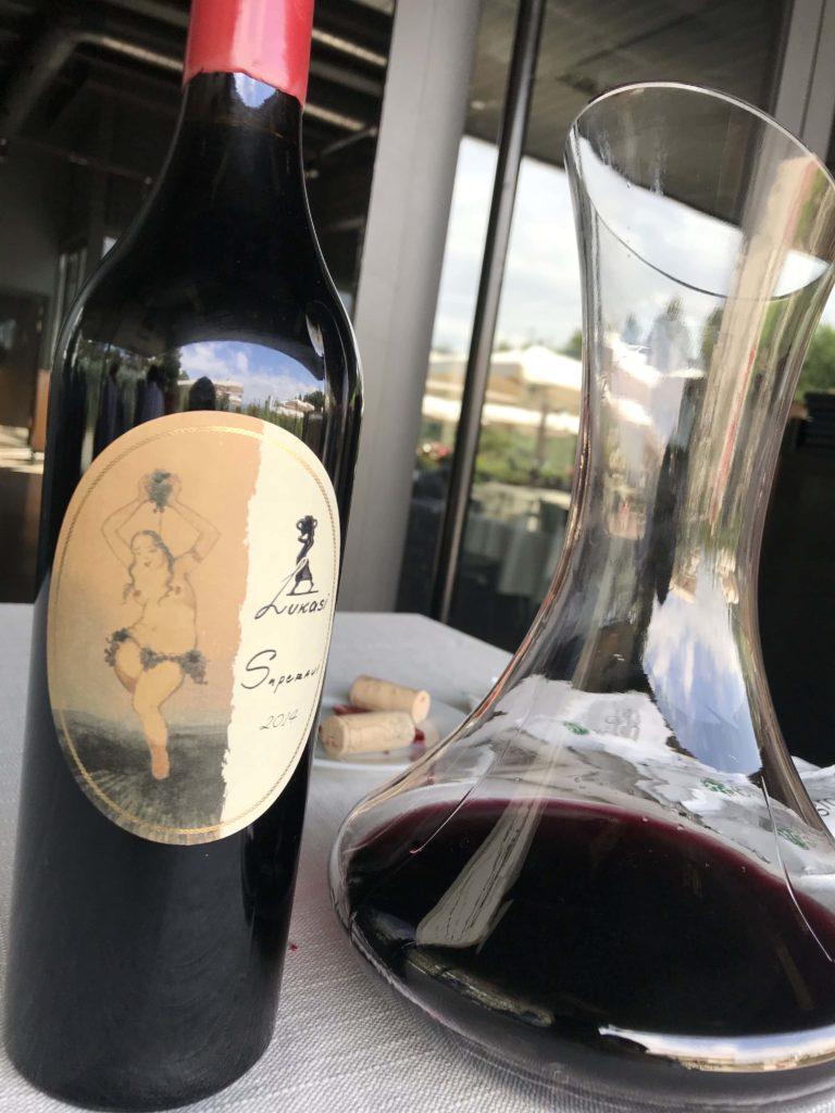 ジョージアの赤ワイン