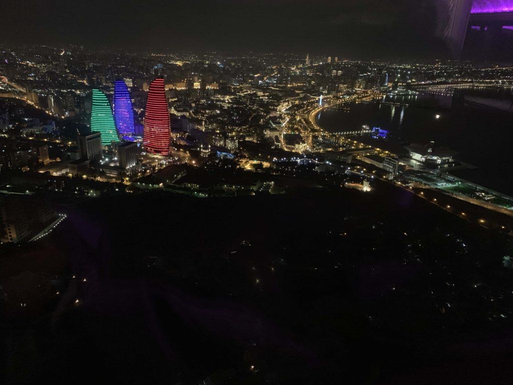 テレビ塔の夜景