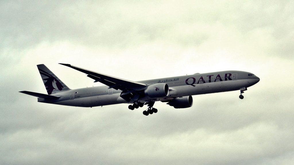 カタール航空機