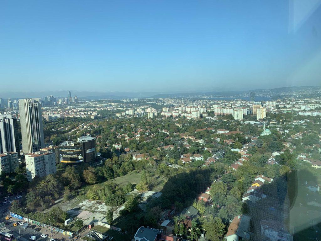 イスタンブールの眺望