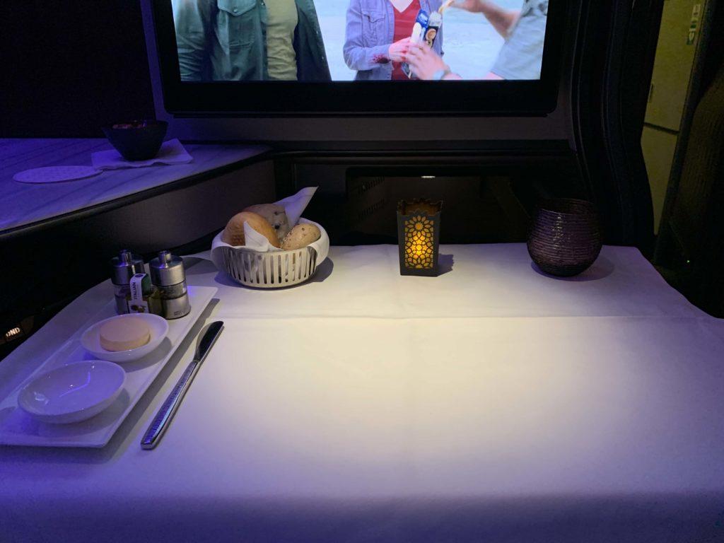 機内テーブルセット