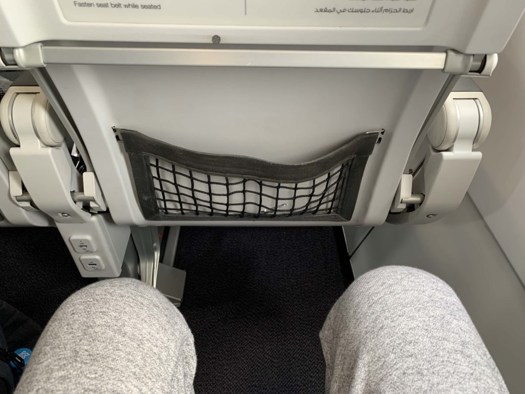 A320の座席スペース