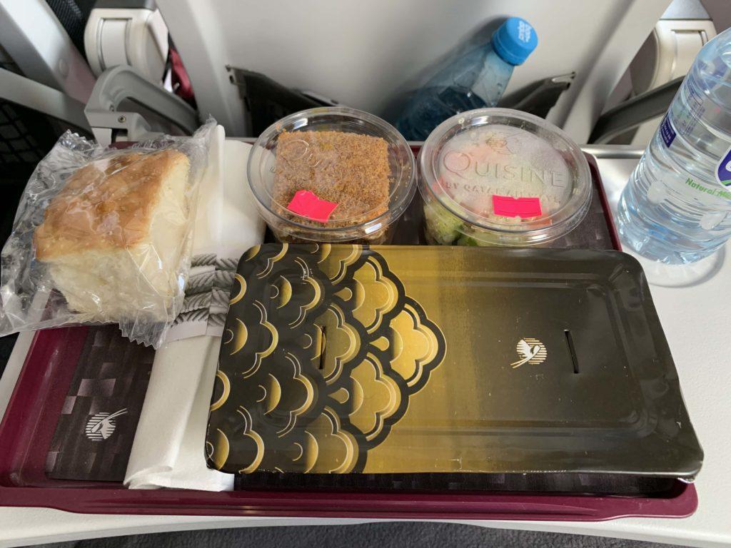A320の機内食
