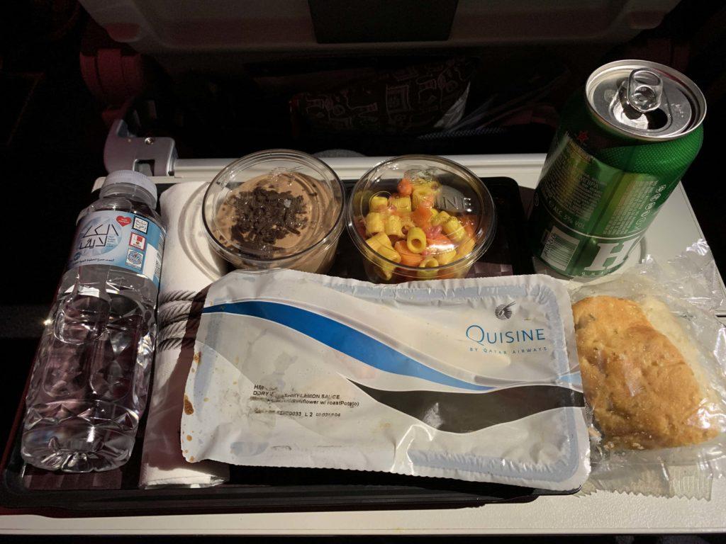 A350の機内食