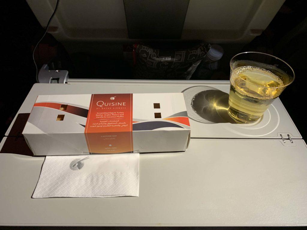 機内食の夜食