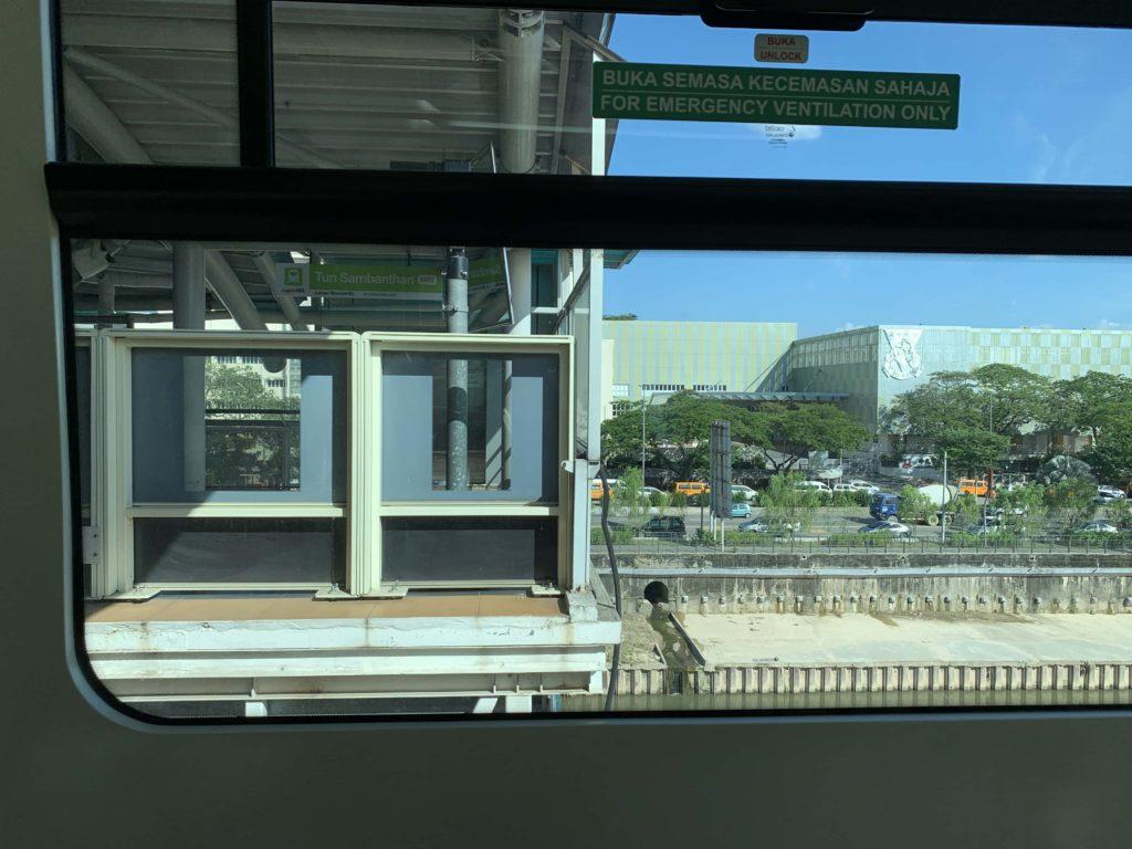 モノレールの駅