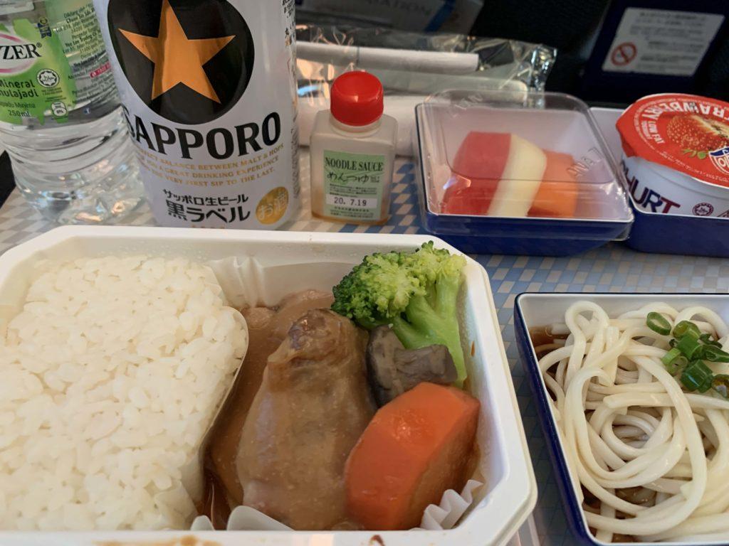 機内食の中身