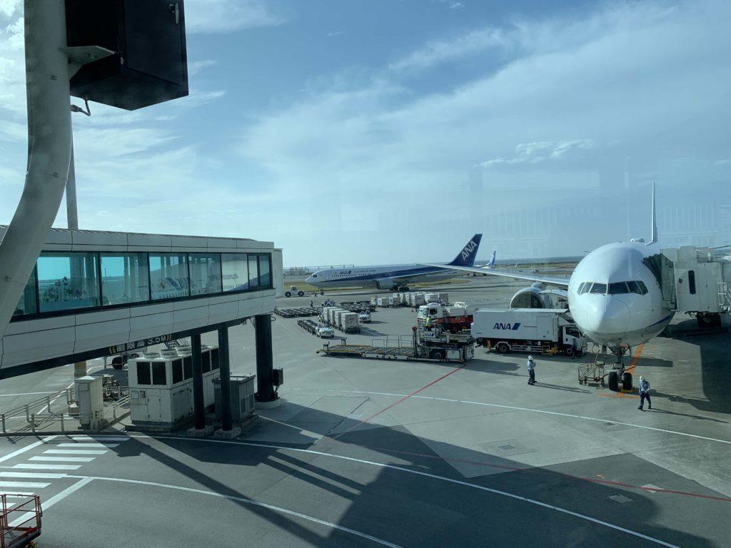 那覇空港 到着