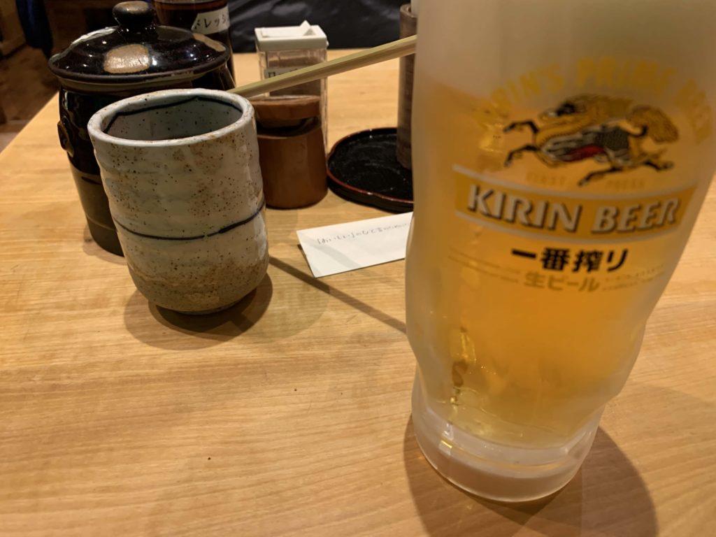 一番搾り 生ビール