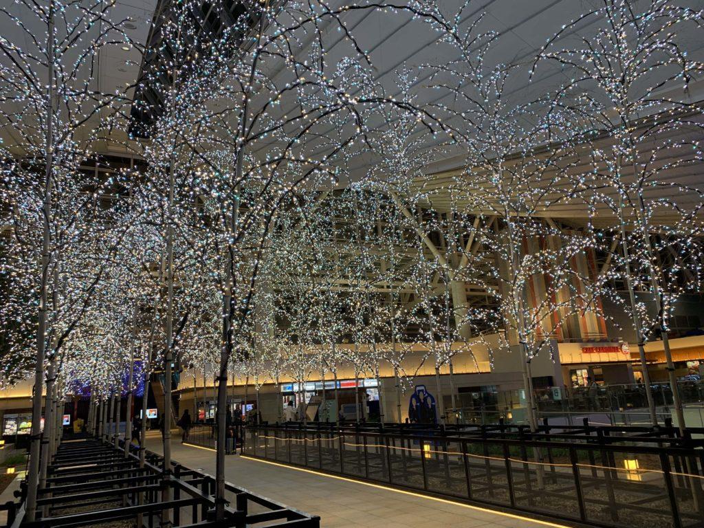 羽田空港のライトアップ
