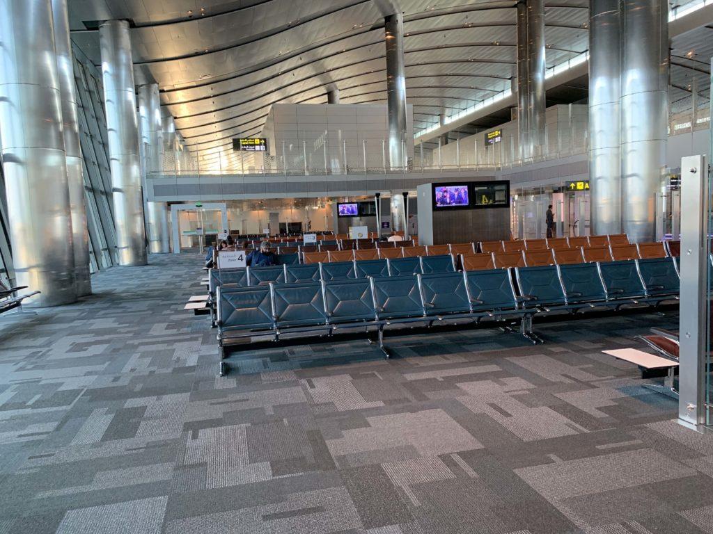 ハマド国際空港の搭乗ゲート