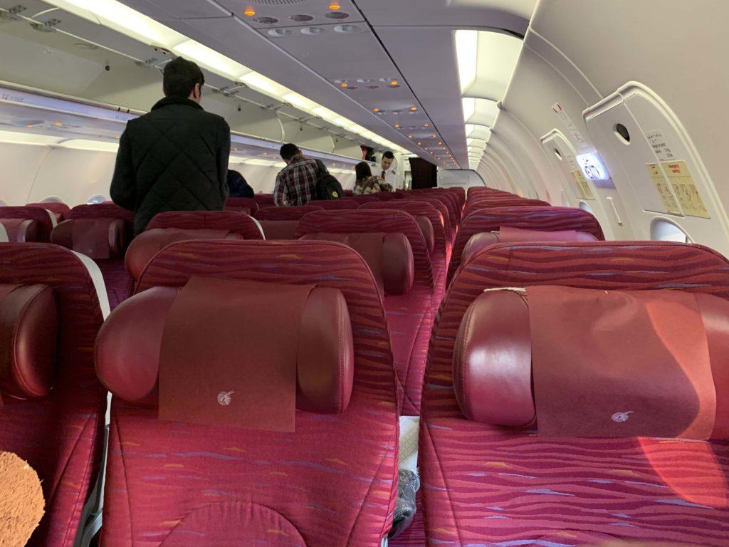 カタール航空搭乗