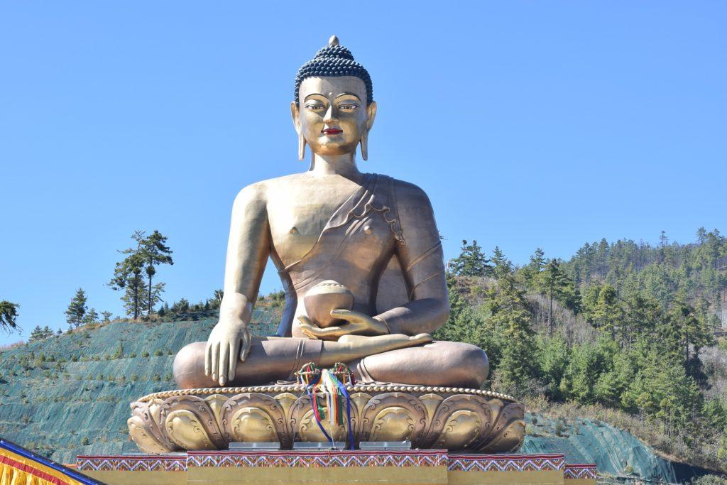 ブータンの仏像
